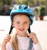 Helm tragen, Vorbild sein!